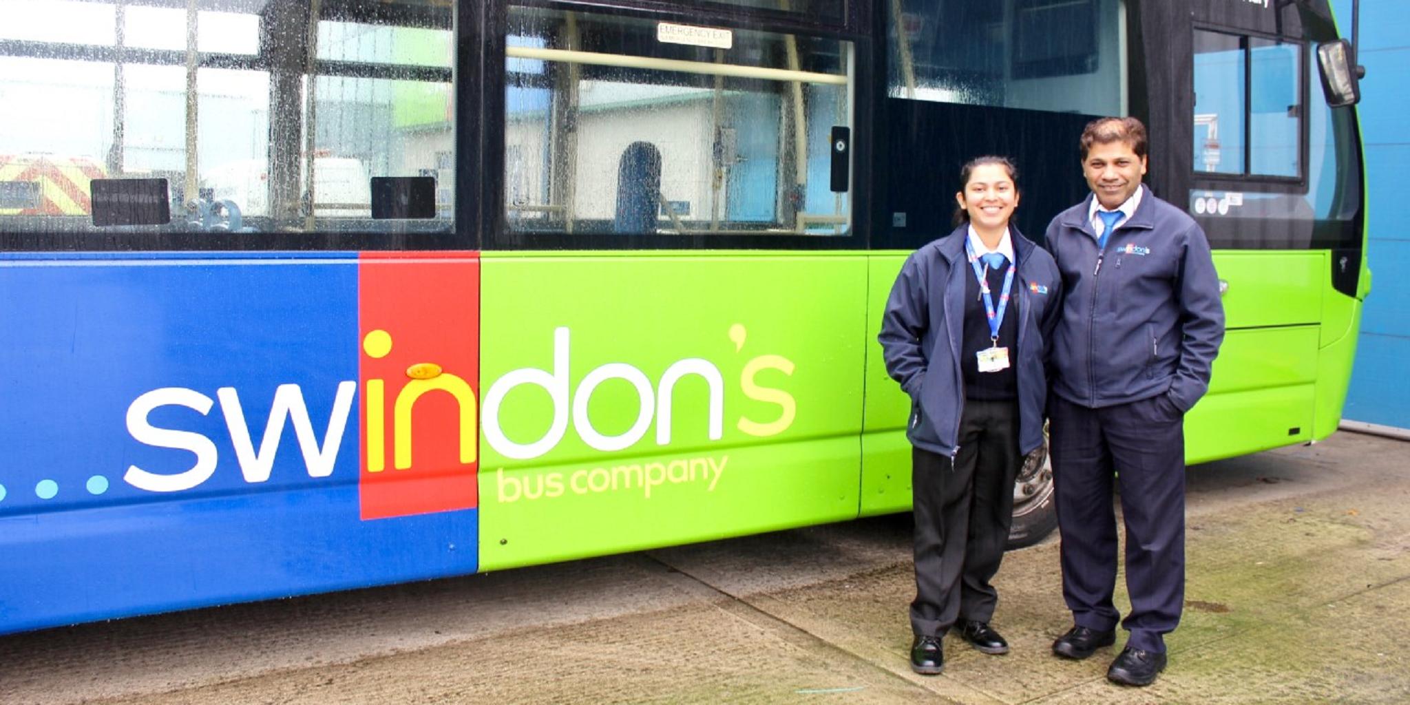 Lycia Estrocio Swindon's Bus Company