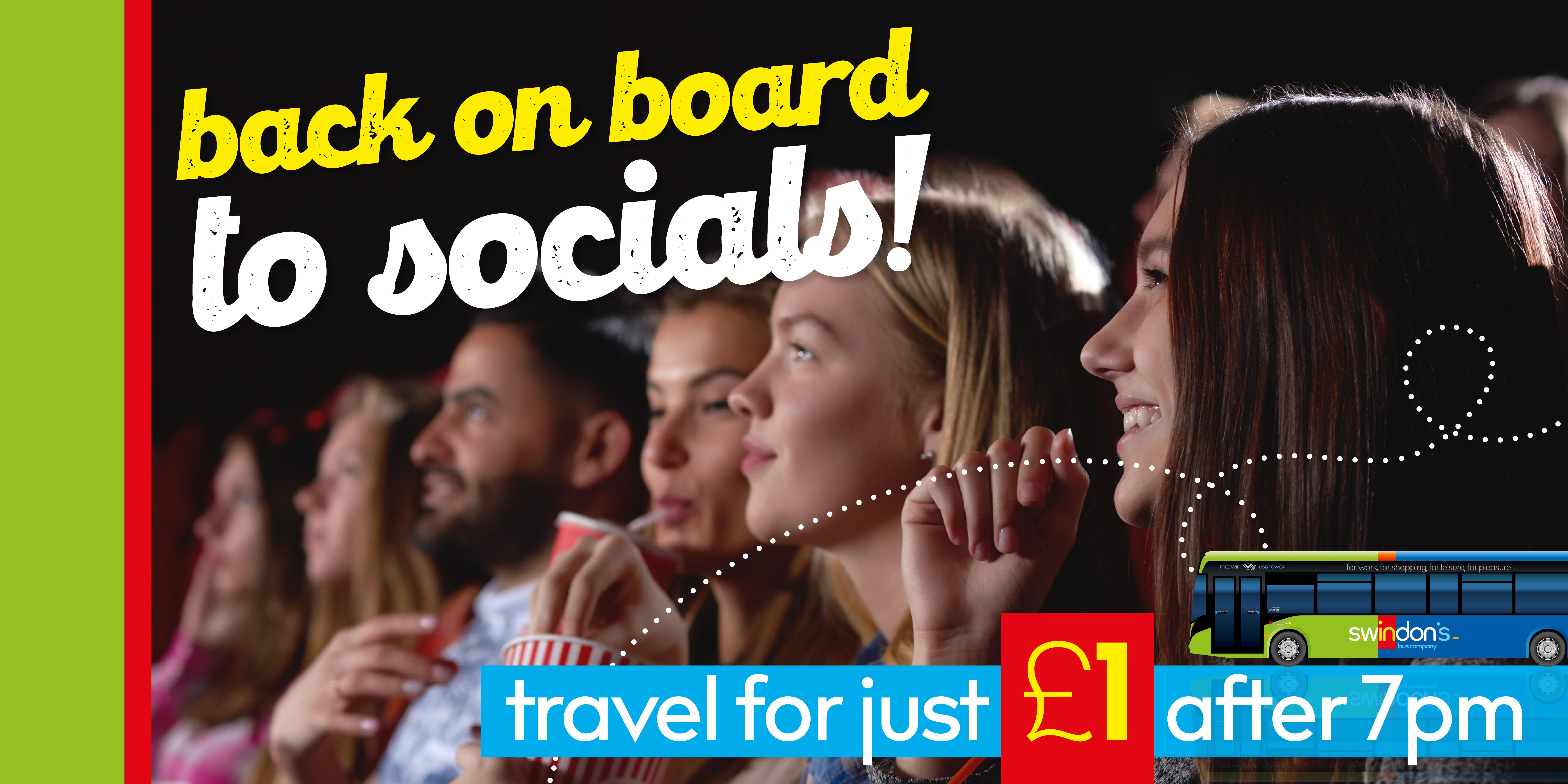 Swindon Bus summer social fare
