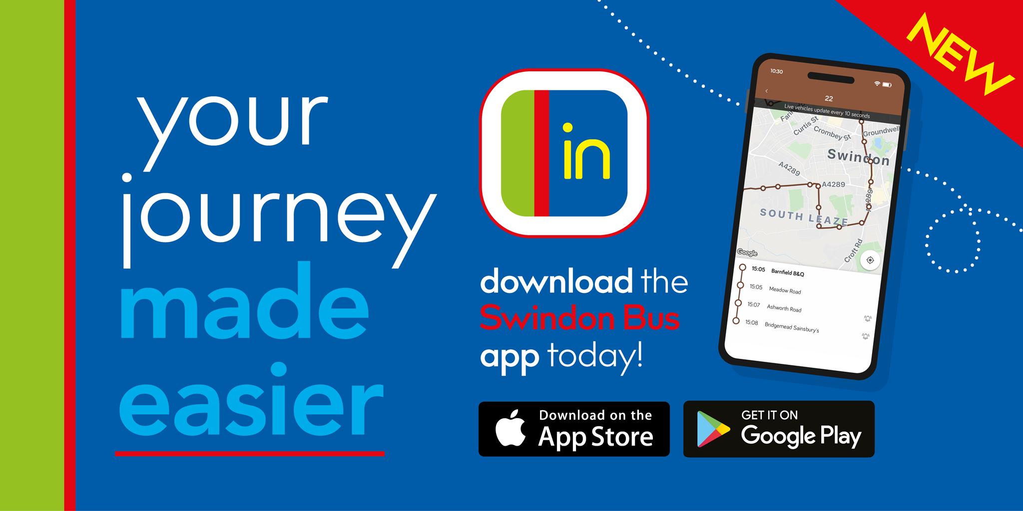 Swindon Bus app