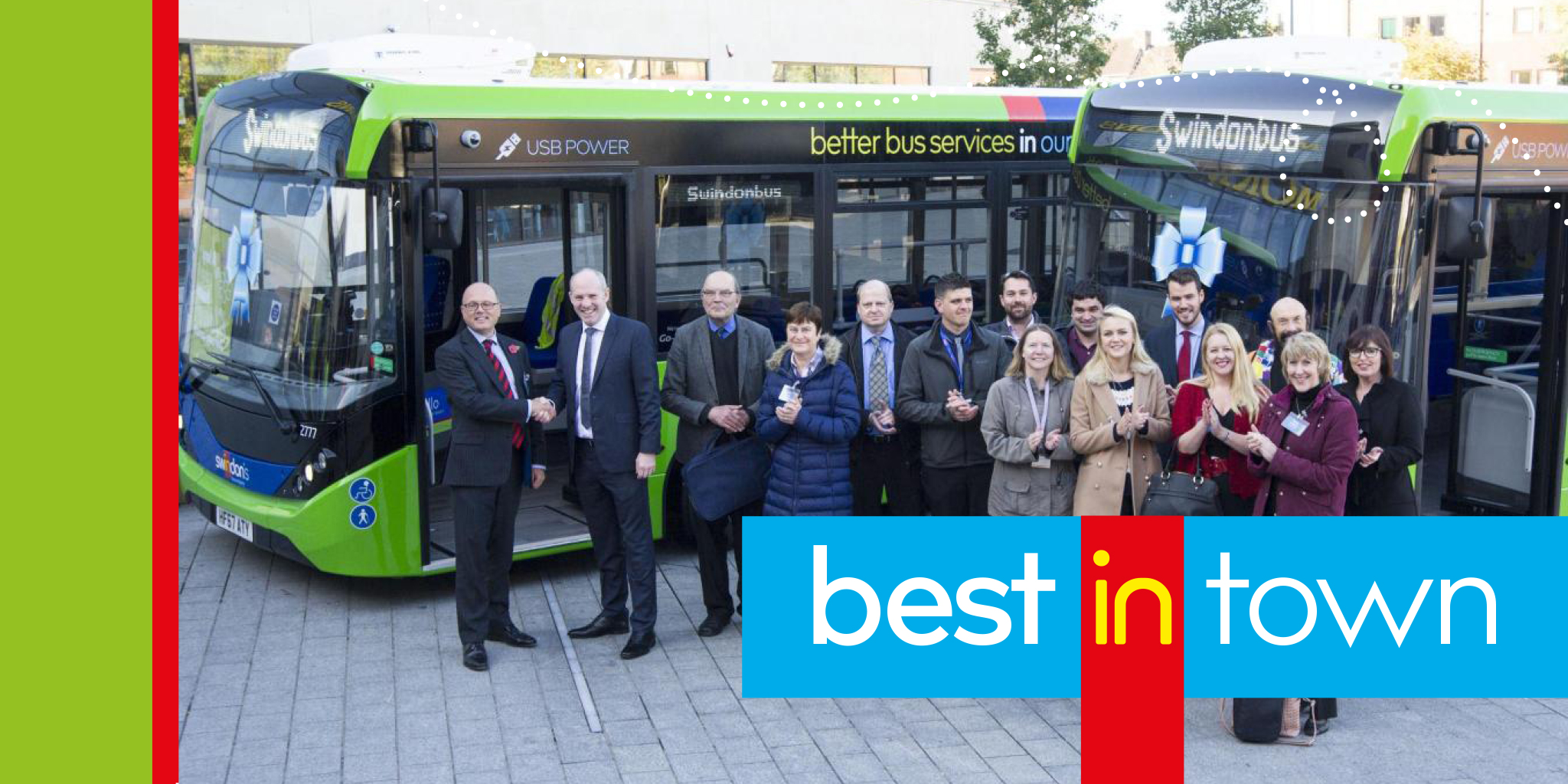 Swindon's Bus Company Best in Town