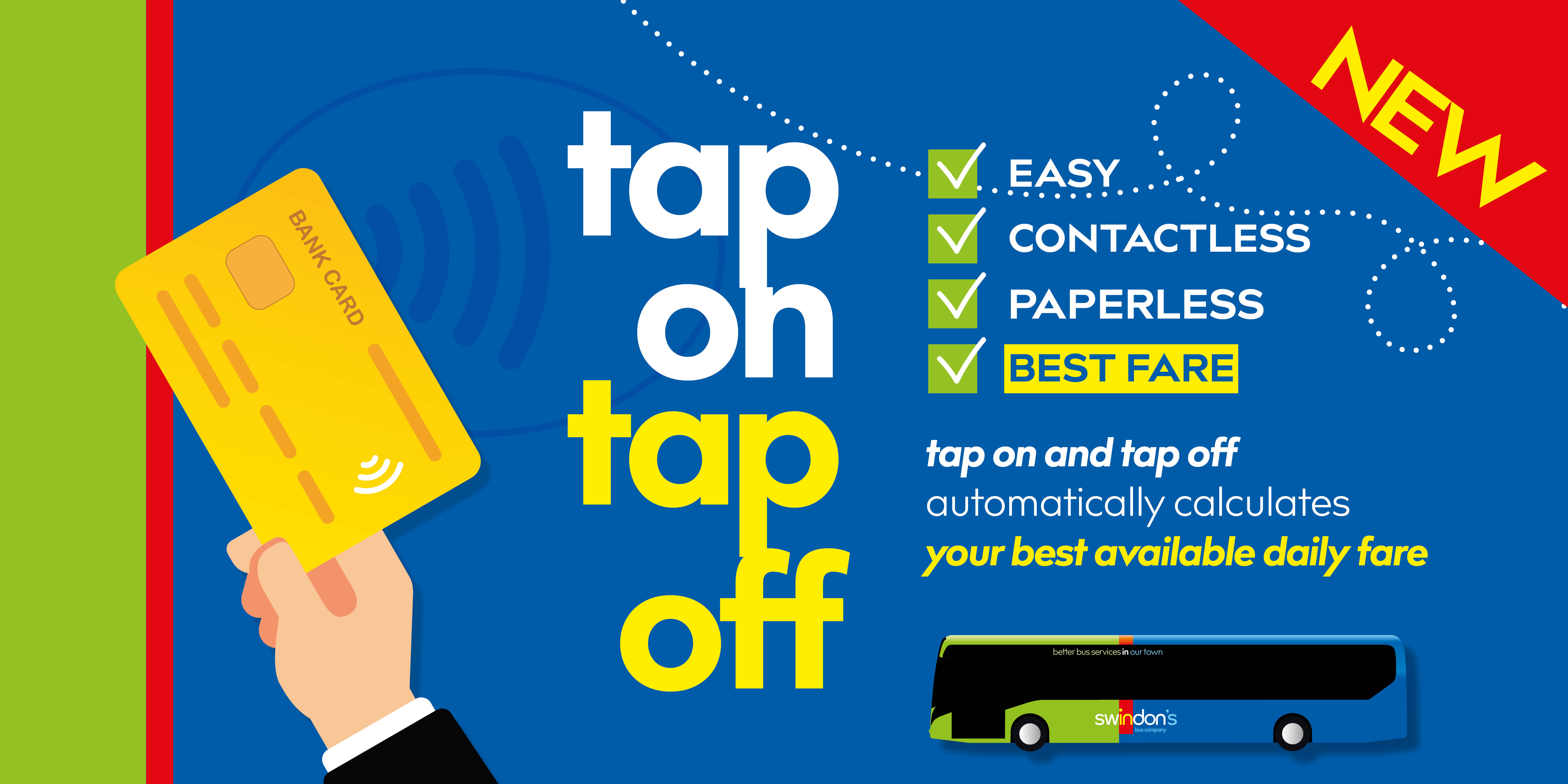 Swindon's Bus Company - Tap On Tap Off