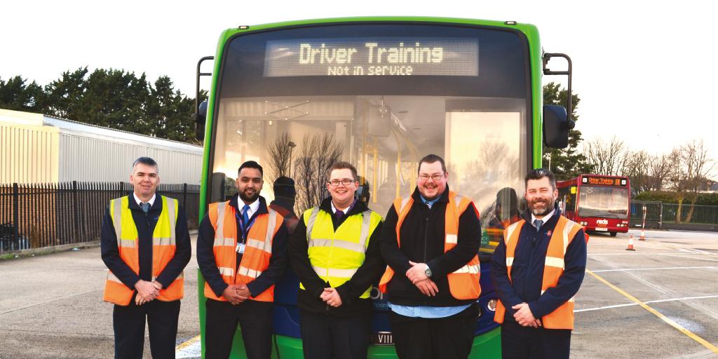 Swindon Bus learner drivers