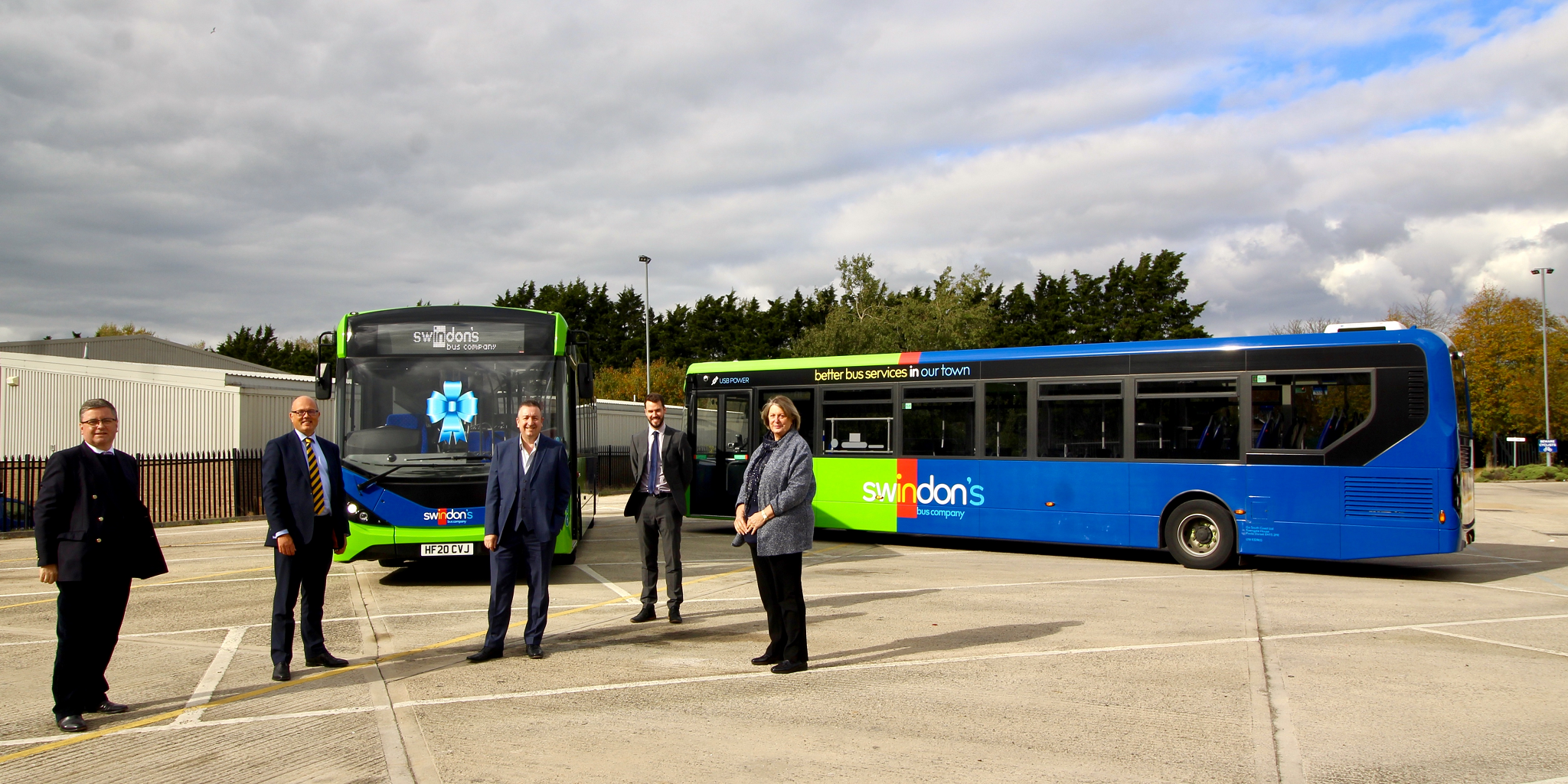 Swindon's Bus Company new buses