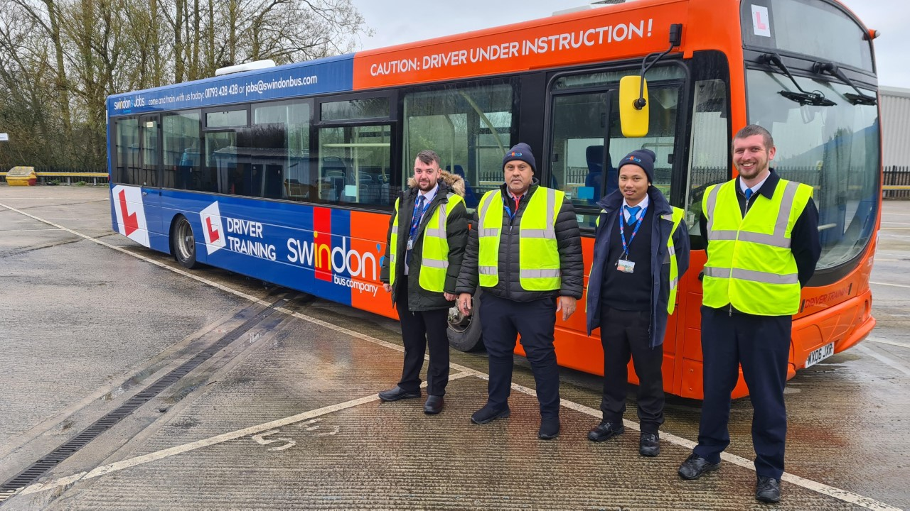 Swindon Bus driver recruitment